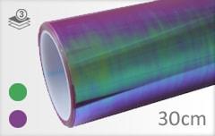 Flipflop paars koplamp folie
