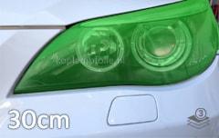 Groen koplamp folie